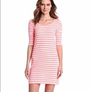 Lilly Pulitzer kaley dress in coral stripe
